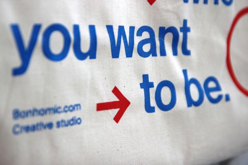 Estampación Tote Bags para el Aniversario del estudio creativo Bonhomic 15