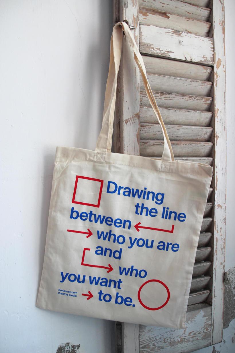Estampación Tote Bags para el Aniversario del estudio creativo Bonhomic 17