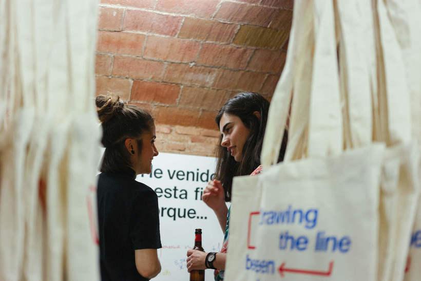 Estampación Tote Bags para el Aniversario del estudio creativo Bonhomic 20