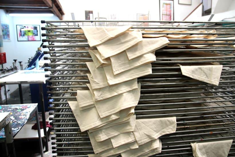 Estampación Camisetas para el rotulista El Deletrista 9