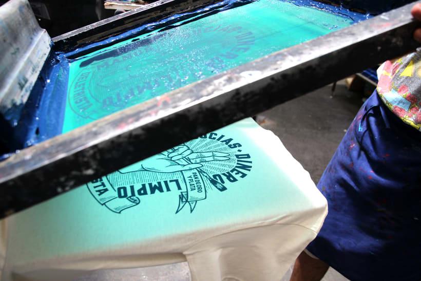 Estampación Camisetas para el rotulista El Deletrista 5