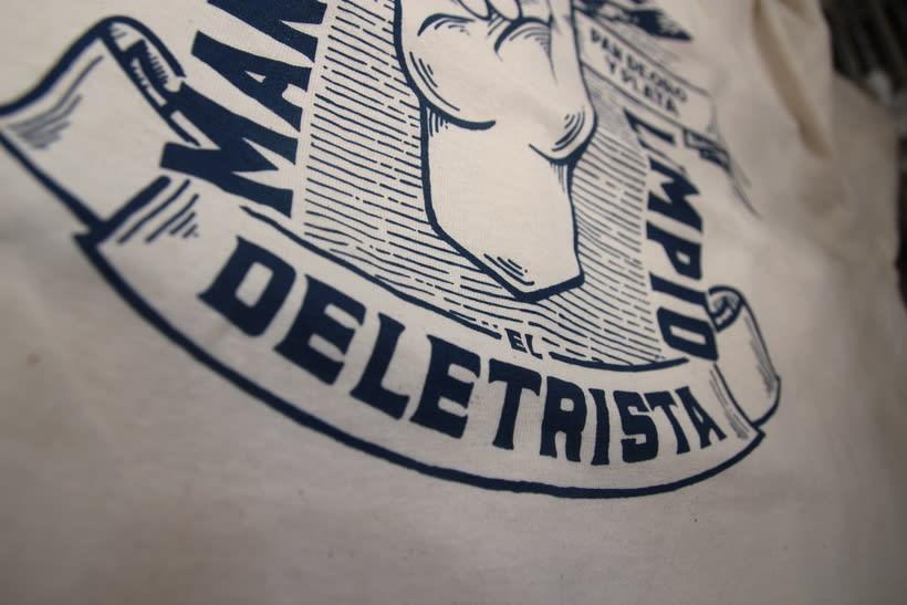 Estampación Camisetas para el rotulista El Deletrista 11