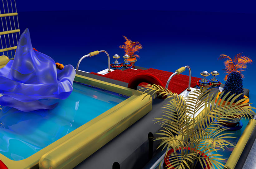 Luxurious Pool 4