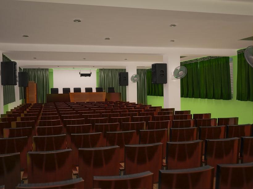 diseño de teatro para la Fuerzas Armadas Revolucionarias (FAR) 2