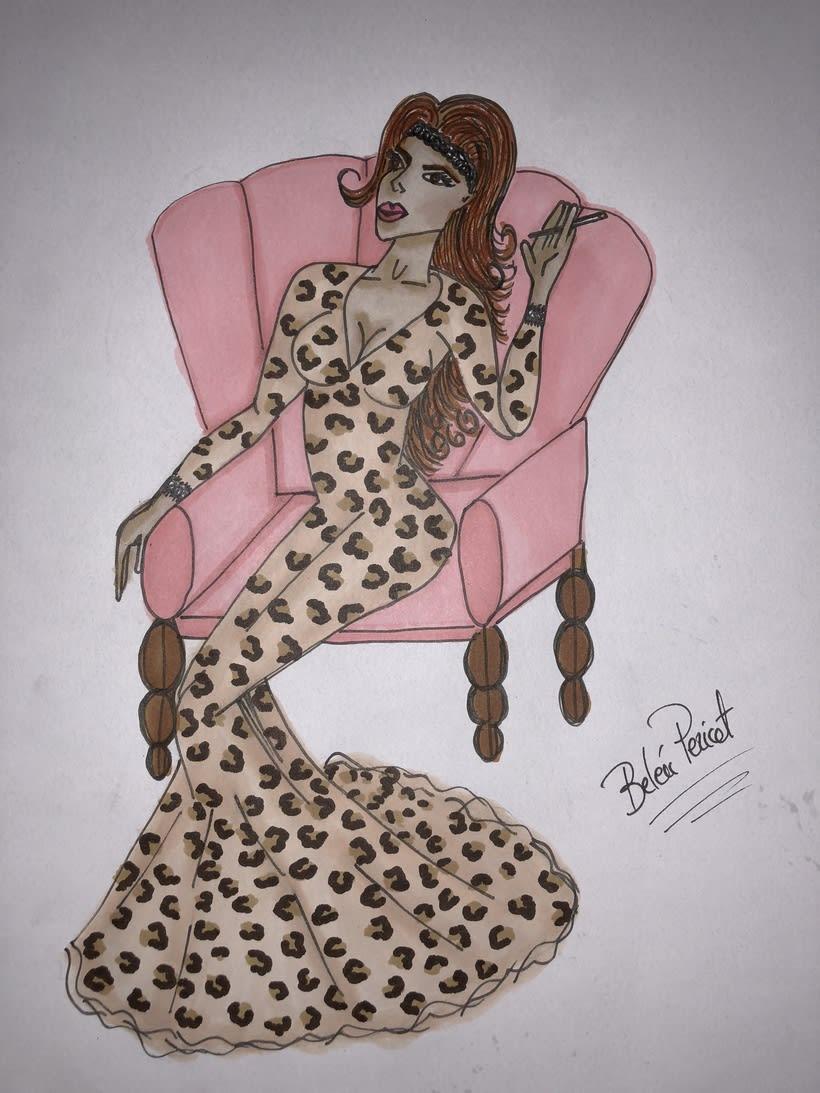 Ilustración leopardo 2018 0