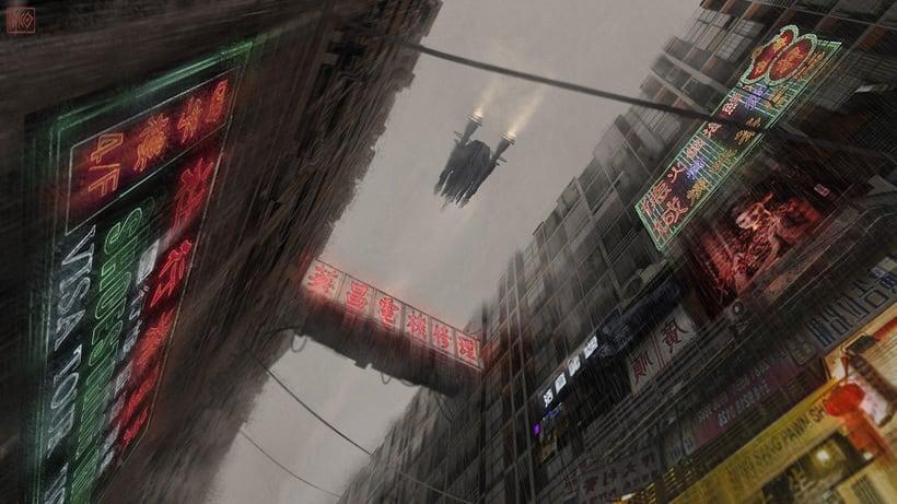 Cyberpunk Environments -1