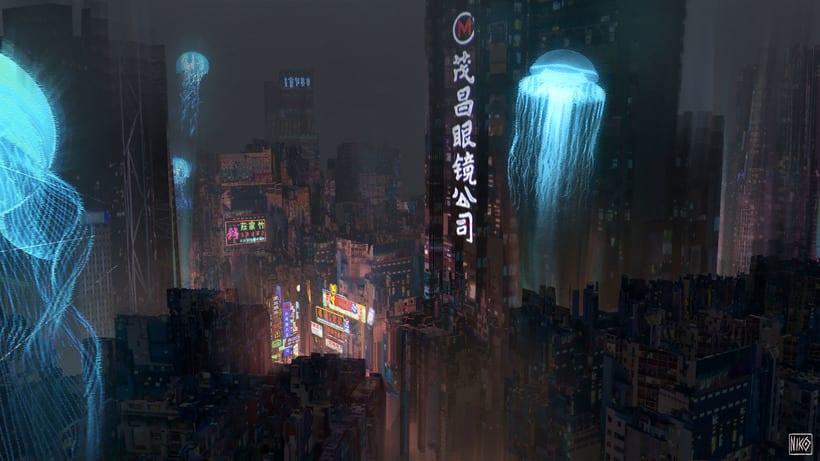 Cyberpunk Environments 0