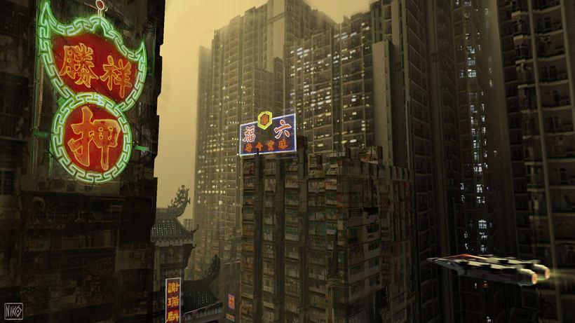 Cyberpunk Environments 1