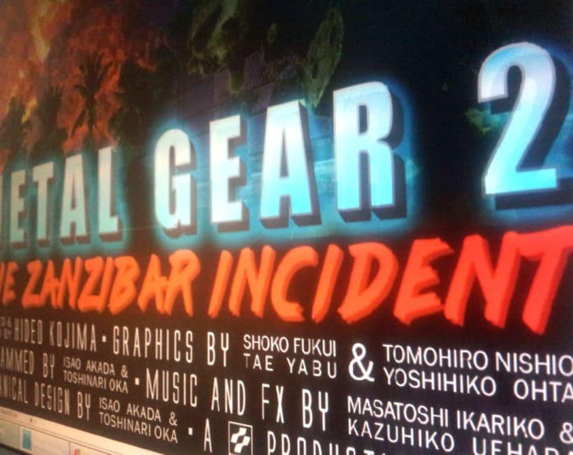 Metal Gear 2 Poster Tribute 1