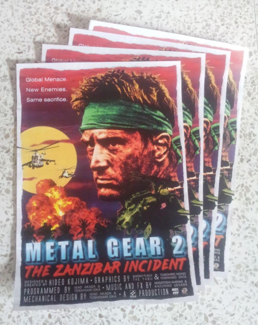 Metal Gear 2 Poster Tribute 3
