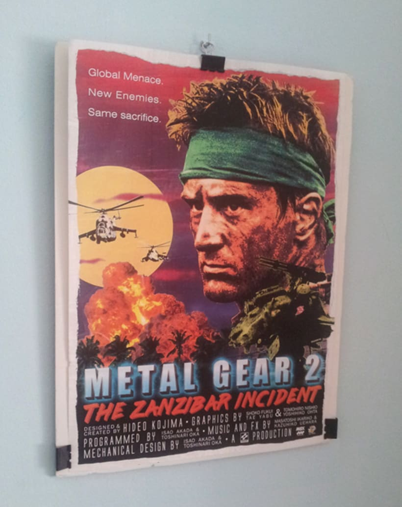 Metal Gear 2 Poster Tribute 4