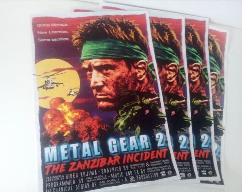Metal Gear 2 Poster Tribute 2