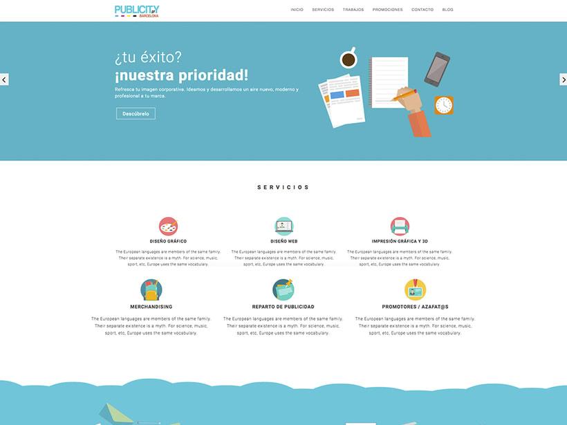 Web Publicity of Barcelona -1