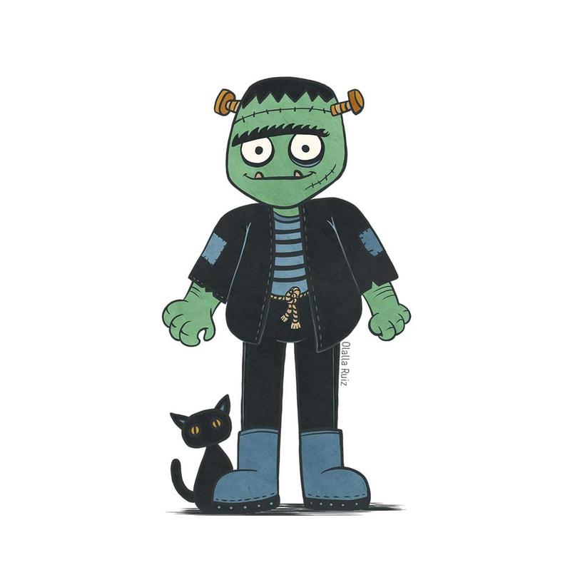 Diseño de personajes para Halloween 6