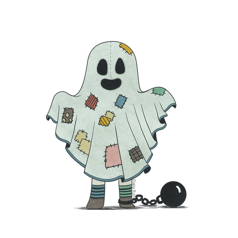 Diseño de personajes para Halloween 3
