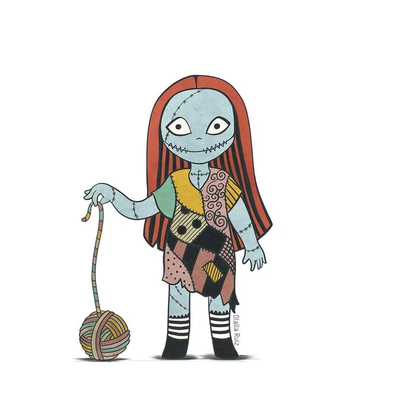 Diseño de personajes para Halloween 4