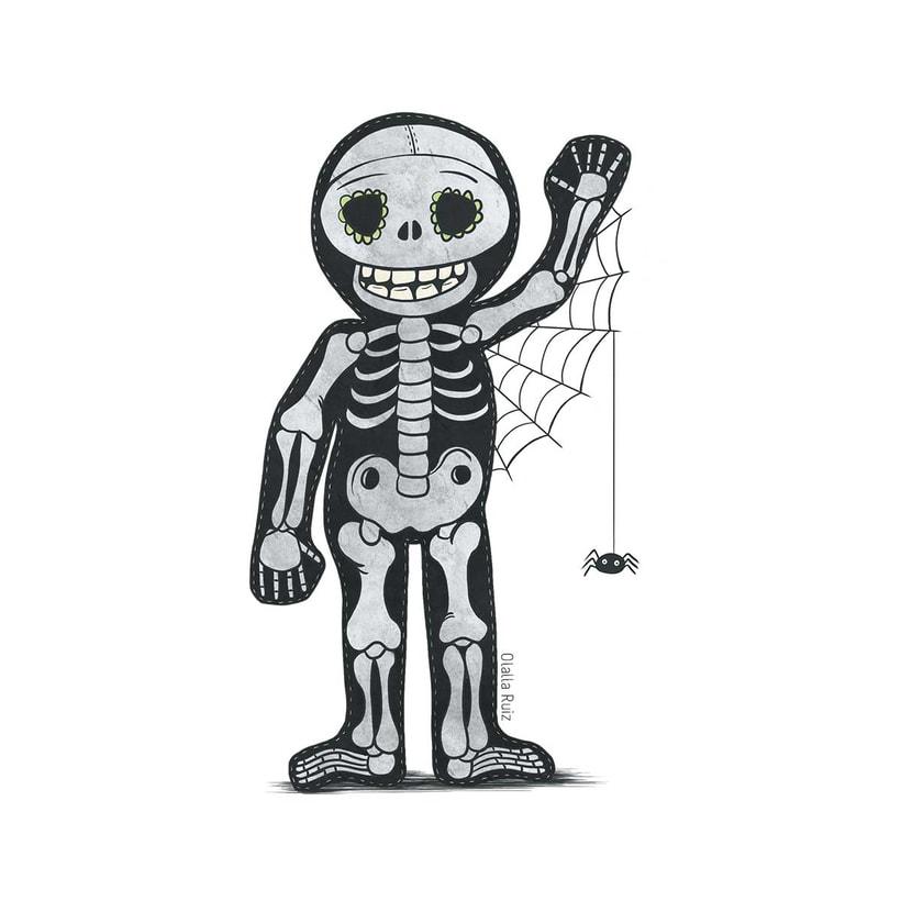 Diseño de personajes para Halloween 7
