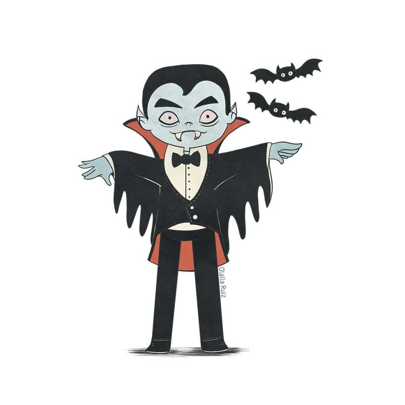 Diseño de personajes para Halloween 8