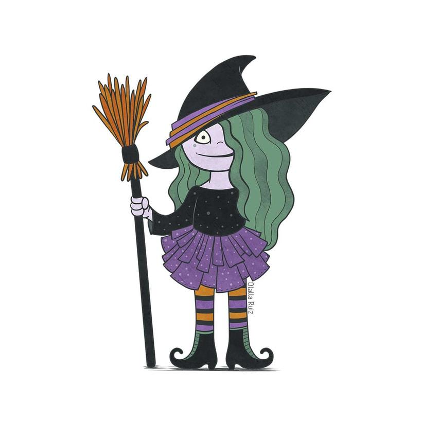 Diseño de personajes para Halloween 9