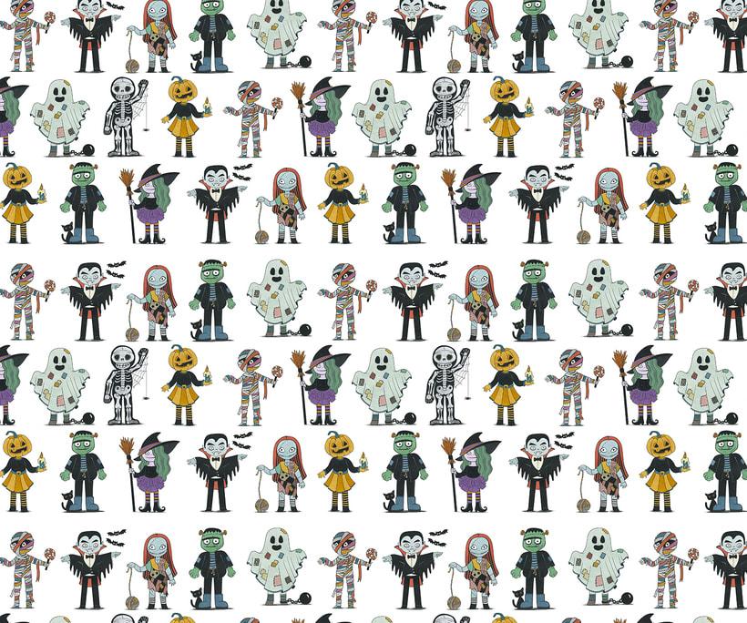 Diseño de personajes para Halloween 11