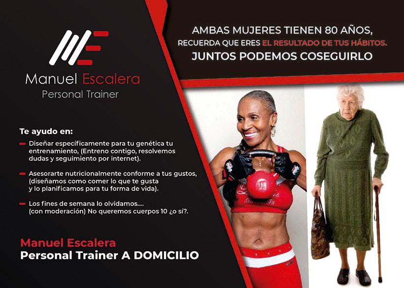 Flyer Personal Trainer Manuel Escalera 1