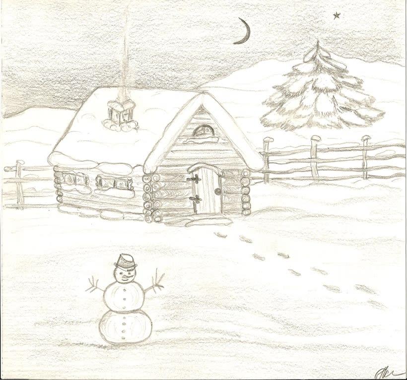 Invierno_dibujo sobre papel -1