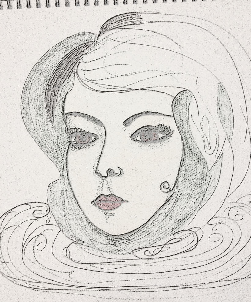 Dibujos sobre papel 8
