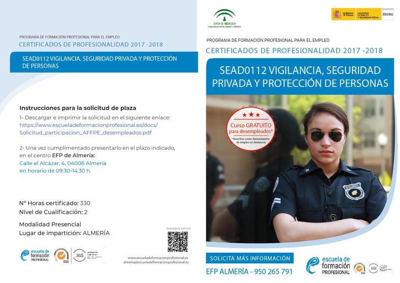 Diptych for Escuela de Formación Profesional 13