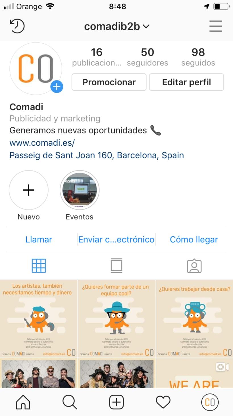 Mi Proyecto del curso: Introducción al marketing digital en Instagram 0