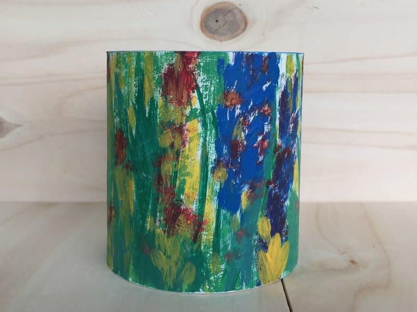 Elementos decorativos con tubo de cartón industrial 0