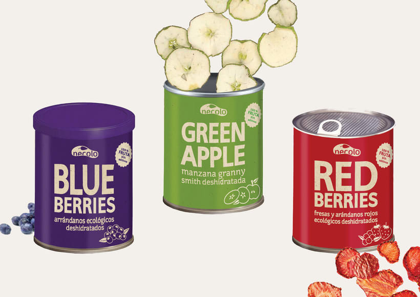 Fruta deshidratada - Packaging 0