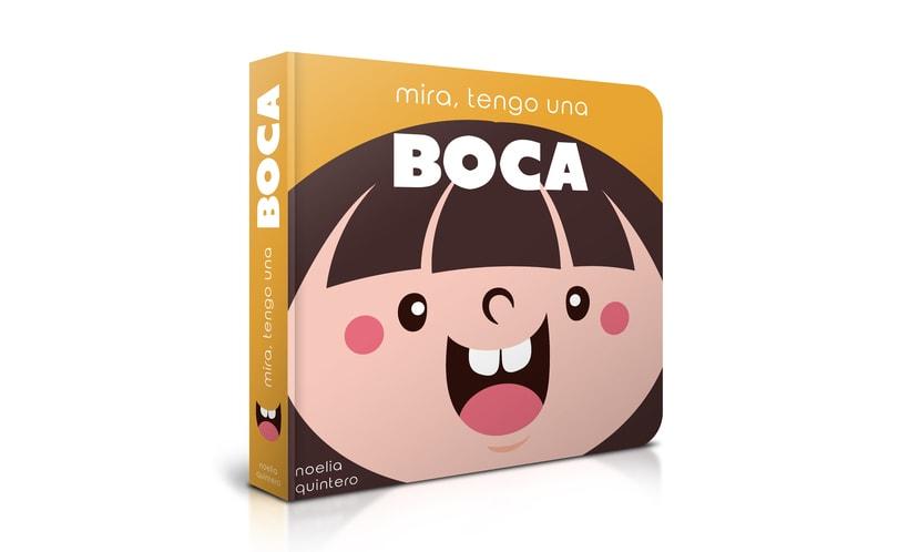 """Mi Proyecto del curso:  Ilustración y diseño de libros infantiles - """"MIRA, TENGO UNA BOCA"""" 0"""