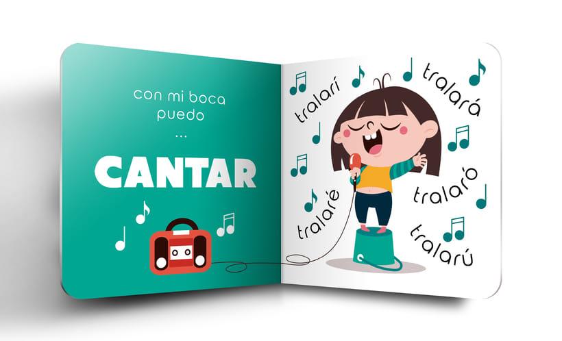 """Mi Proyecto del curso:  Ilustración y diseño de libros infantiles - """"MIRA, TENGO UNA BOCA"""" 1"""