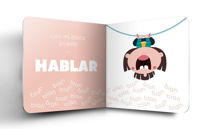 """Mi Proyecto del curso:  Ilustración y diseño de libros infantiles - """"MIRA, TENGO UNA BOCA"""" 6"""