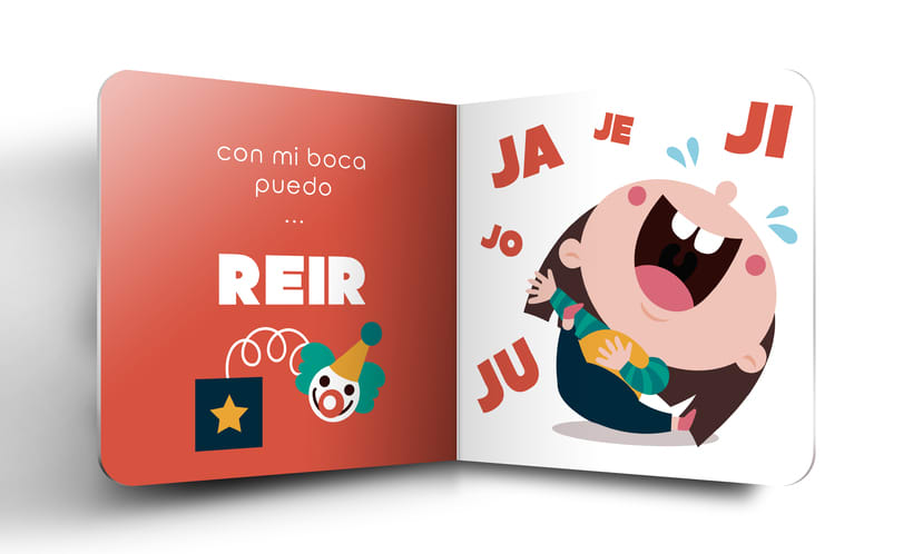 """Mi Proyecto del curso:  Ilustración y diseño de libros infantiles - """"MIRA, TENGO UNA BOCA"""" 7"""