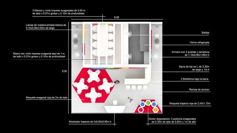 Diseño de stand PLUS BERRIES - Fruit Attraction 2018 - Ifema - Madrid 3
