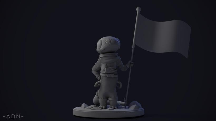 Lagarto astronauta 2