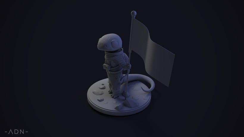 Lagarto astronauta 4