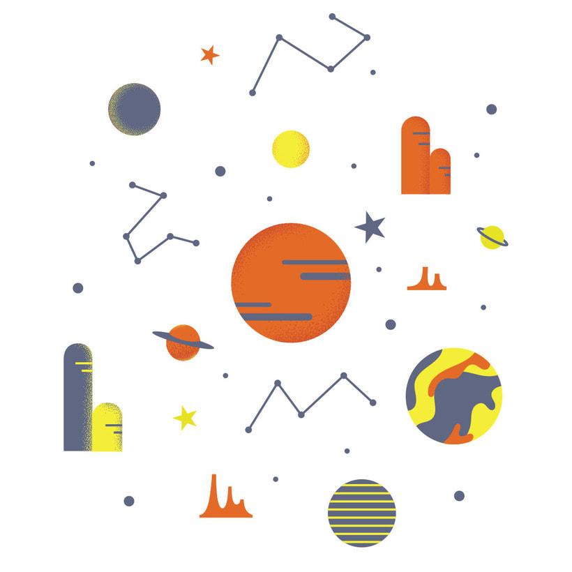 Laika. Play with Cosmos!- Ilustración aplicada a producto 2