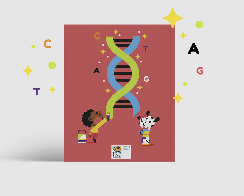 What colour is Science?. Libro infantil para colorear 2