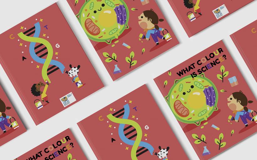What colour is Science?. Libro infantil para colorear 3