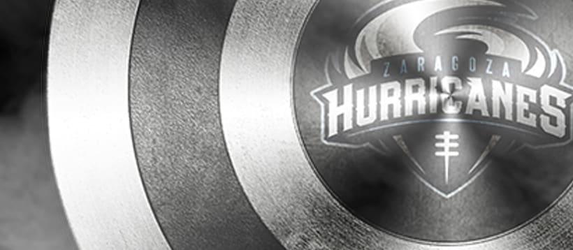 """Zaragoza Hurricanes"" Shield 1"