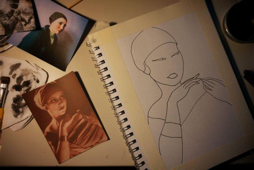 Mi Proyecto del curso: Introducción a la ilustración con tinta china 2