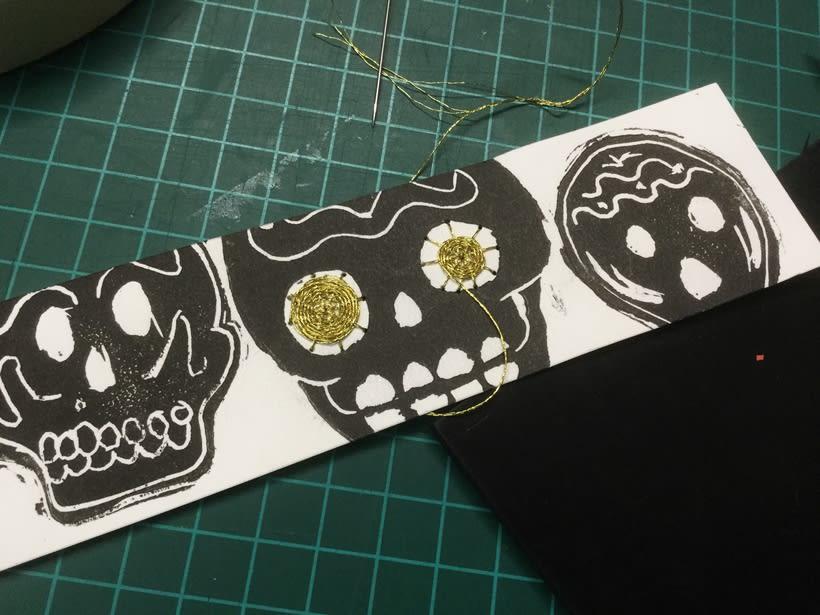 Mi Proyecto del curso: Técnicas de bordado experimental sobre papel 0
