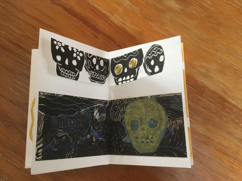 Mi Proyecto del curso: Técnicas de bordado experimental sobre papel 3