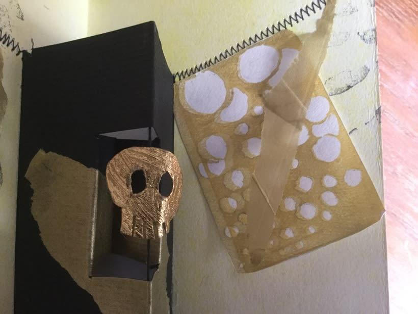 Mi Proyecto del curso: Técnicas de bordado experimental sobre papel 5