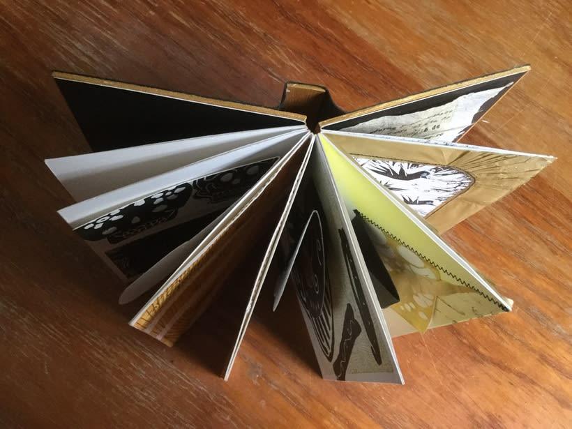 Mi Proyecto del curso: Técnicas de bordado experimental sobre papel 7
