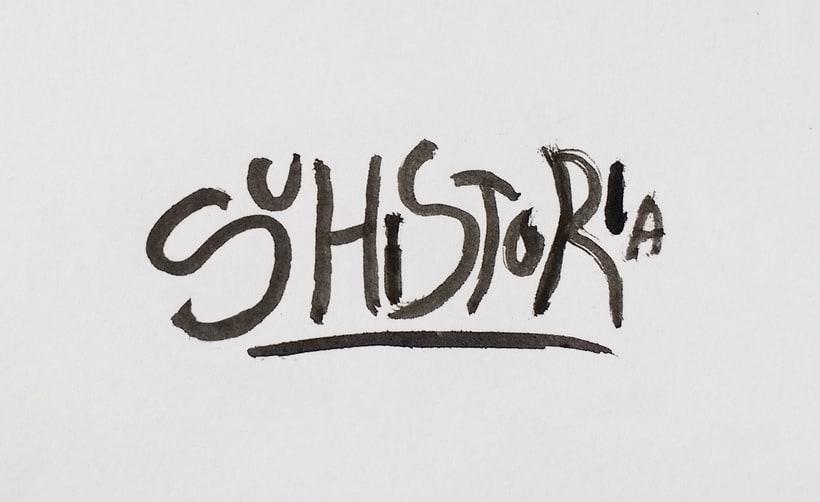 Mi Proyecto del curso: Diseño de logotipos caligráficos 0