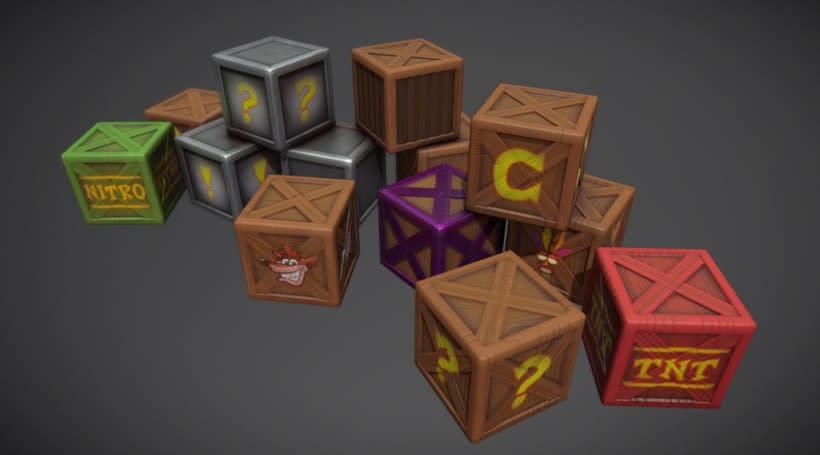 Crash Bandicoot Crates 0