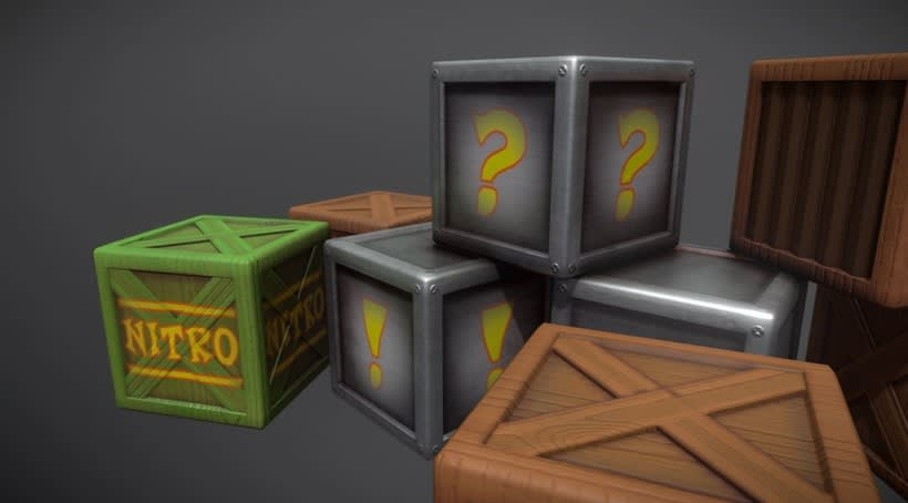 Crash Bandicoot Crates 1